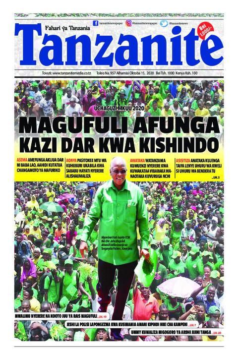 MAGUFULI AFUNGA KAZI DAR KWA KISHINDO | Tanzanite