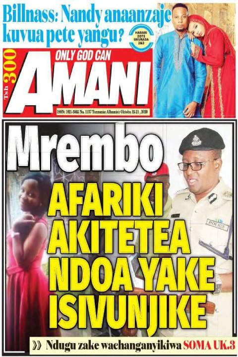 Mrembo AFARIKI AKITETEA NDOA YAKE ISIVUNJIKE | AMANI