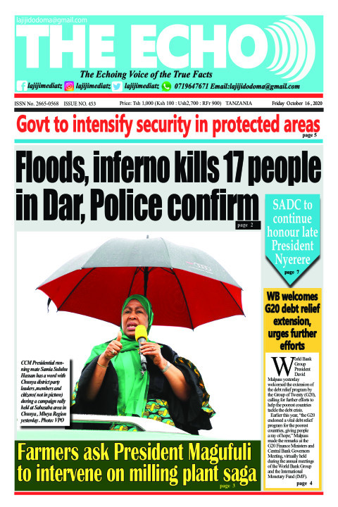 Floods, inferno kills 17 people 
