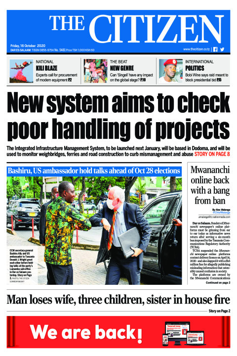 NEW SYSTEM AIMS TO CHECK POOR HANDLING OF PROJECTS  | The Citizen