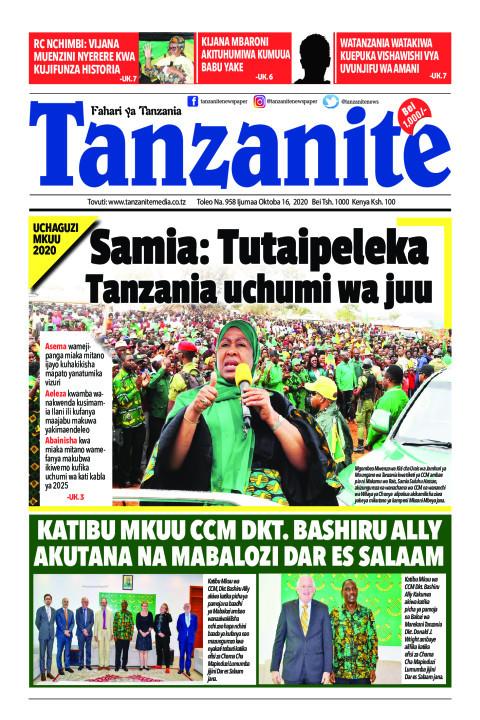 Samia: Tutaipeleka Tanzania uchumi wa juu | Tanzanite