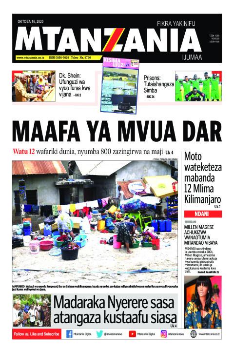 MAAFA YA MVUA DAR | Mtanzania
