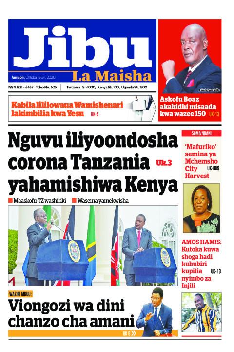 Nguvu iliyoondosha corona Tanzania yahamishiwa Kenya | JIBU LA MAISHA