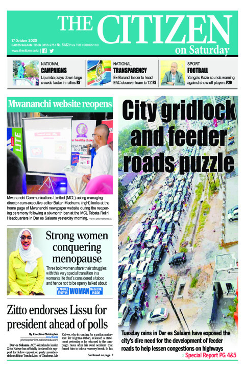 CITY GRIDLOCK AND FEEDER ROADS PUZZLE  | The Citizen