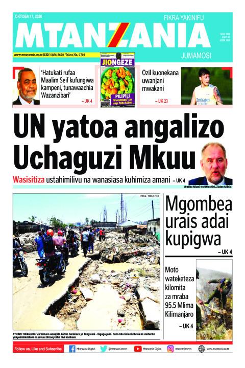 UN yatoa angalizo Uchaguzi Mkuu | Mtanzania