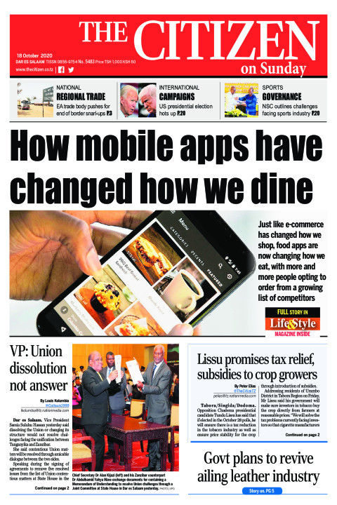 HOW MOBILE APPS HAVE CHANGED HOW WE DINE  | The Citizen