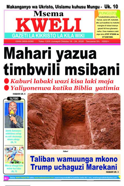 Mahari yazua timbwili msibani | MSEMA KWELI