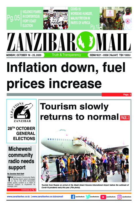 Inflation down, fuel prices increase  | ZANZIBAR MAIL