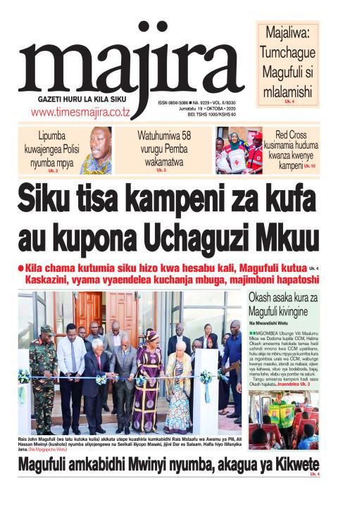Siku tisa kampeni za kufa au kupona Uchaguzi Mkuu | MAJIRA