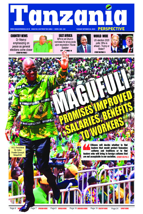 Magufuli promises improved salaries, benefits to workers | Tanzania Perspective