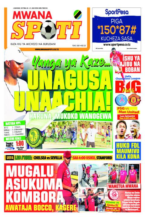 YANGA YA KAZE ..UNAGUSA UNAACHIA!  | Mwanaspoti