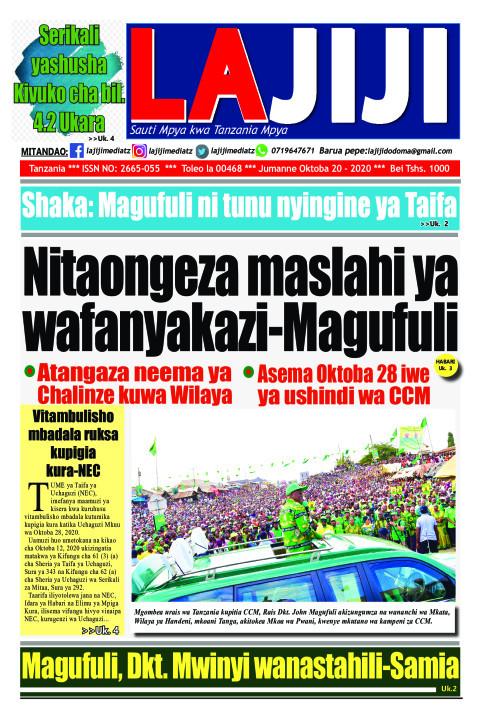 Nitaongeza maslahi ya wafanyakazi-Magufuli | LaJiji