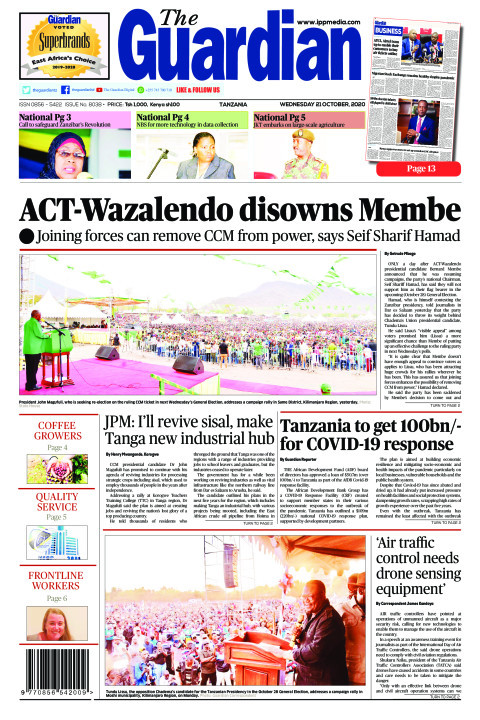 ACT-Wazalendo disowns Membe | The Guardian