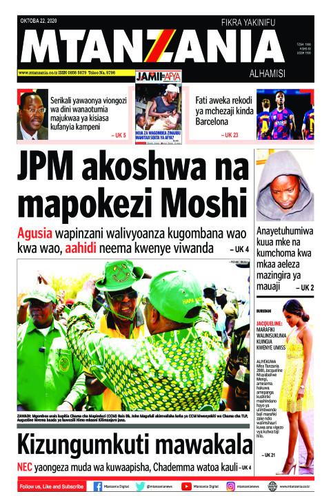 JPM akoshwa na mapokezi Moshi | Mtanzania