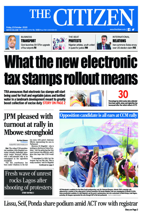 WHAT A NEW ELCTRONIC TAX STAMPS ROLLOUT MEANS  | The Citizen