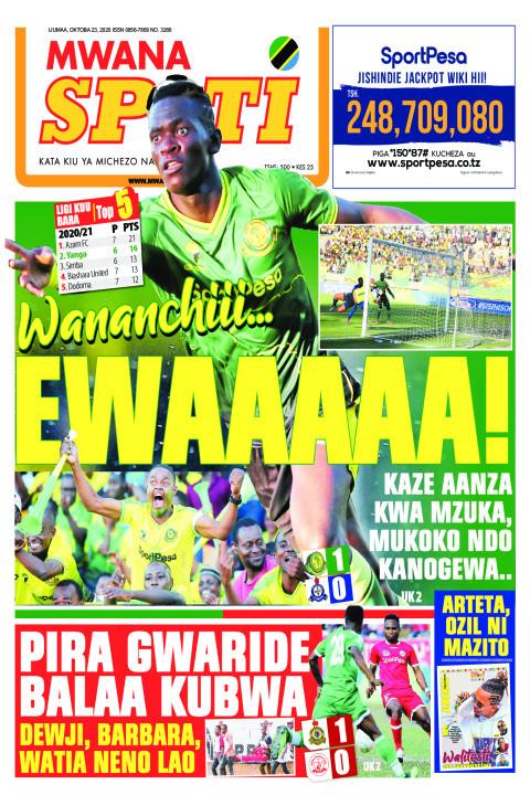 WANANCHII EWAAAAA!!!!  | Mwanaspoti