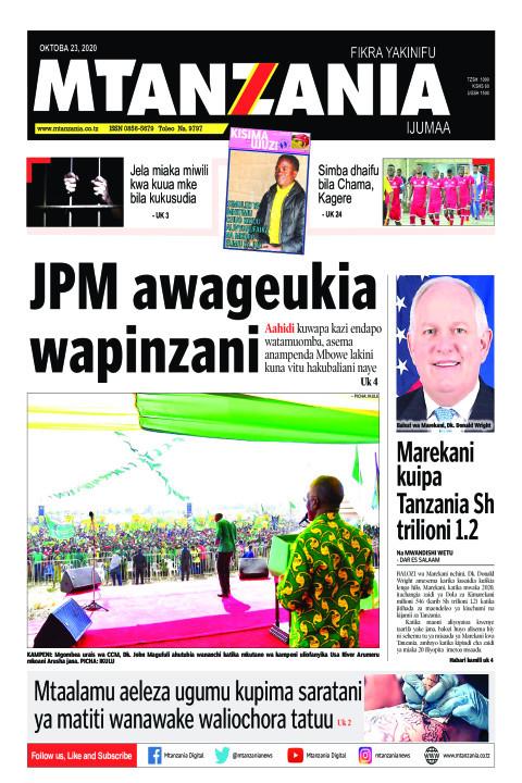 JPM awageukia wapinzani | Mtanzania