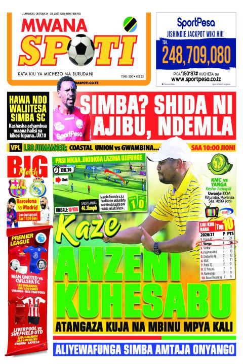 KAZE ANZENI KUHESABU  | Mwanaspoti