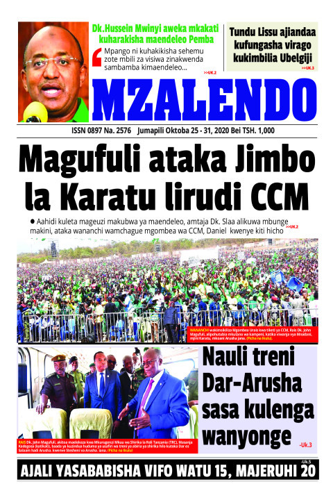 Magufuli ataka Jimbo la Karatu lirudi CCM | Mzalendo
