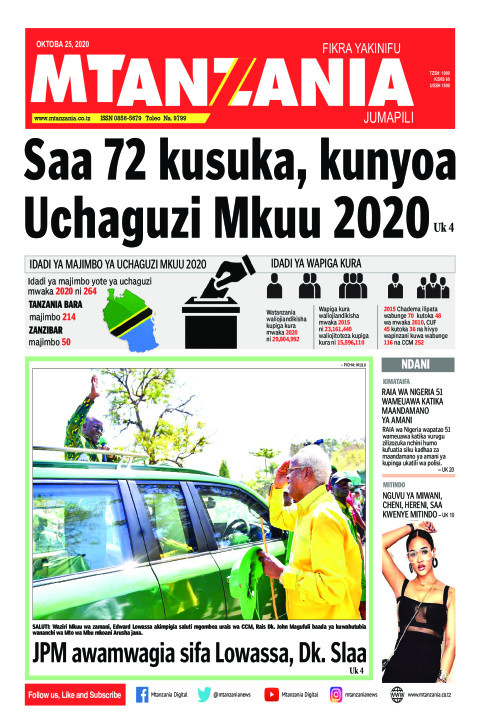 Saa 72 kusuka, kunyoa Uchaguzi Mkuu 2020 | Mtanzania