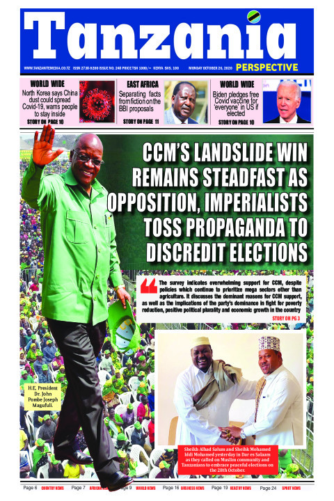 CCM's landslide win remains steadfast as opposition, imperia | Tanzania Perspective