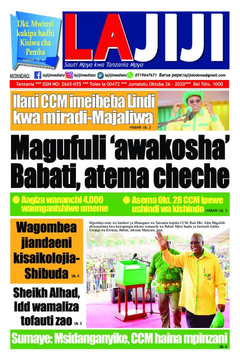 Magufuli 'awakosha' Babati, atema cheche  | LaJiji