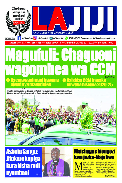 Magufuli: Chagueni wagombea wa CCM  | LaJiji
