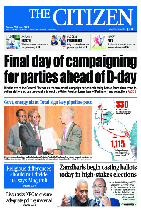 FINAL DAY OF CAMPAIGNING FOR PARTIES AHEAD OF D-DAY  | The Citizen
