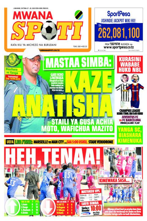 MASTAA SIMBA: KAZE ANATISHA, HEH, TENA  | Mwanaspoti