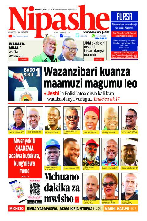 Wazanzibari kuanza maamuzi magumu leo | Nipashe