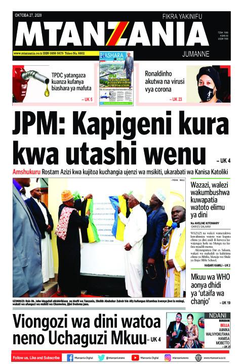JPM: Kapigeni kura kwa utashi wenu | Mtanzania