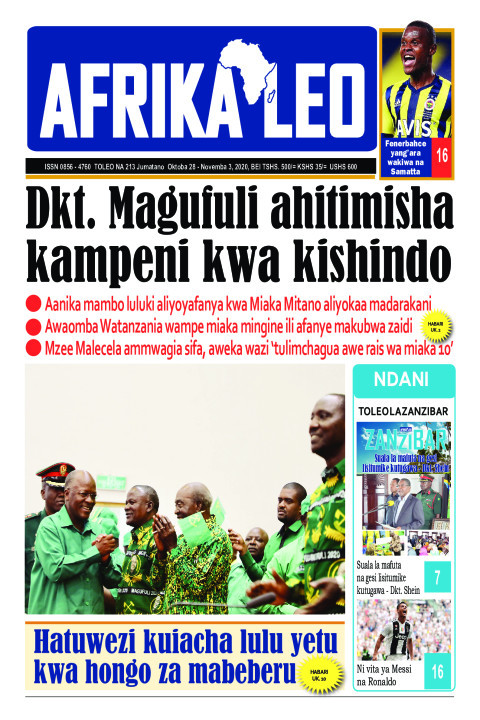 MAGUFULI AHITIMISHA KAMPENI KWA KISHINDO   AFRIKA LEO