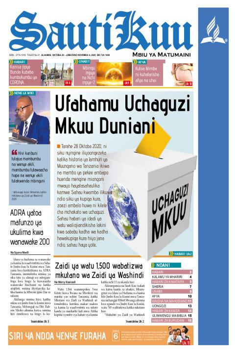 Ufahamu Uchaguzi Mkuu Duniani | Sauti Kuu Newspaper