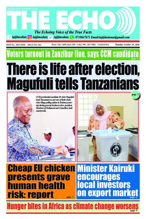 There is life after election, Magufuli tells Tanzanians | The ECHO