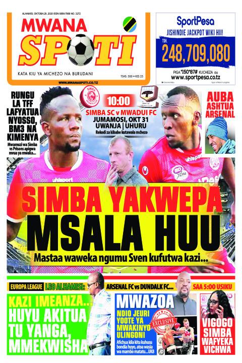 SIMBA YAKWEPA MSALA HUU  | Mwanaspoti
