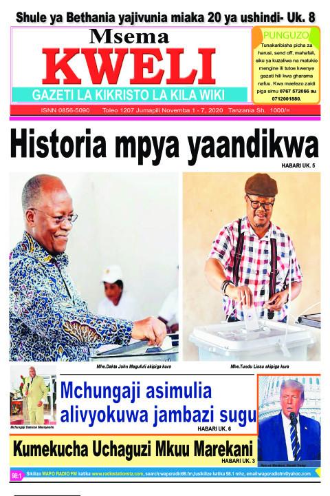HISTORIA PYA YAANDIKWA TANZANIA.  Kumekucha Uchaguzi Mkuu M | MSEMA KWELI