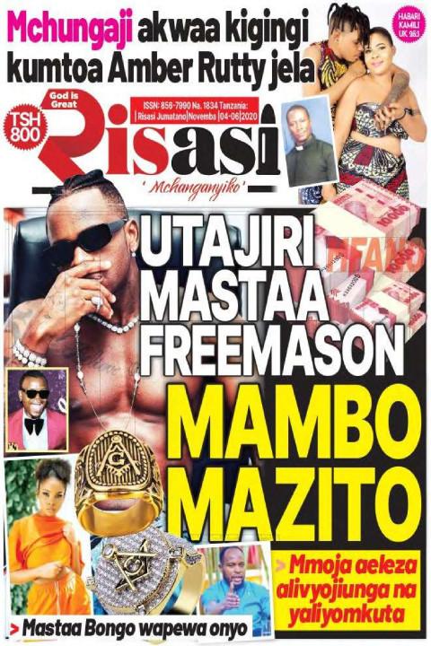 UTAJIRI MASTAA FREEMASON MAMBO MAZITO | Risasi Mchanganyiko