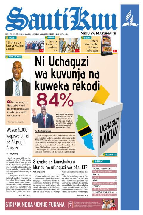 NI UCHAGUZI WA KUVUNJA NA KUWEKA REKODI | Sauti Kuu Newspaper