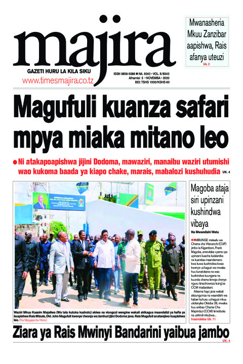 Magufuli kuanza safari mpya miaka mitano leo | MAJIRA