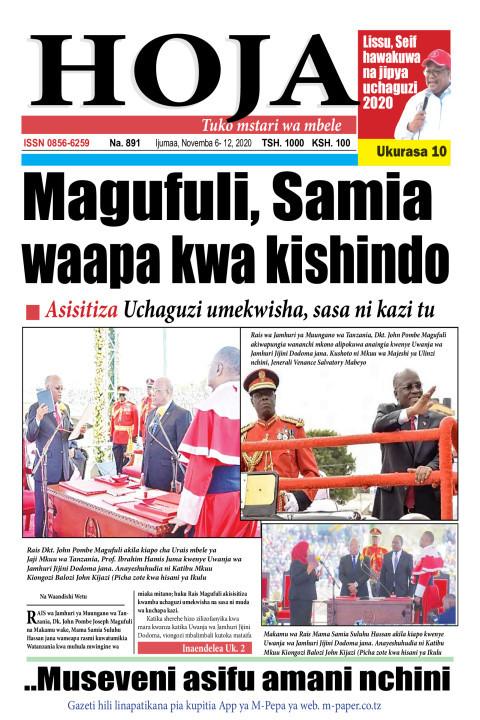 Magufuli, Samia waapa kwa kishindo | HOJA