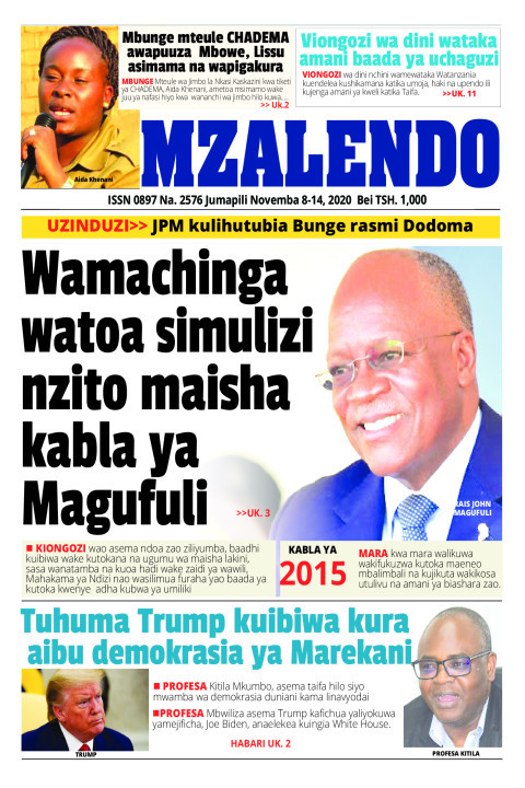 Wamachinga watoa simulizi nzito maisha kabla ya Magufuli | Mzalendo