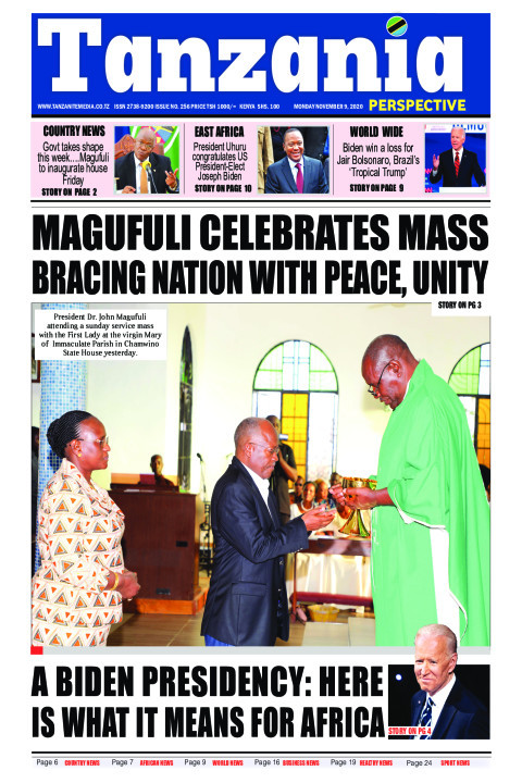 Magufuli celebrates mass bracing nation with peace, unity | Tanzania Perspective