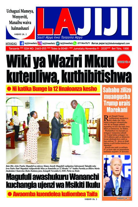 Wiki ya Waziri Mkuu kuteuliwa, kuthibitishwa | LaJiji