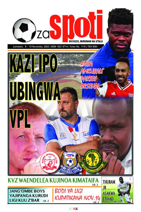 KAZI IPO AZI IPO UBINGWA VPL | ZA SPOTI