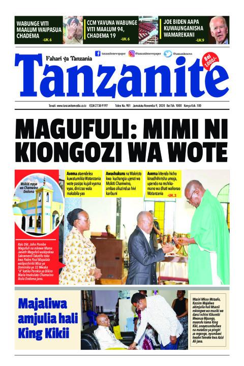 MAGUFULI: MIMI NI KIONGOZI WA WOTE | Tanzanite