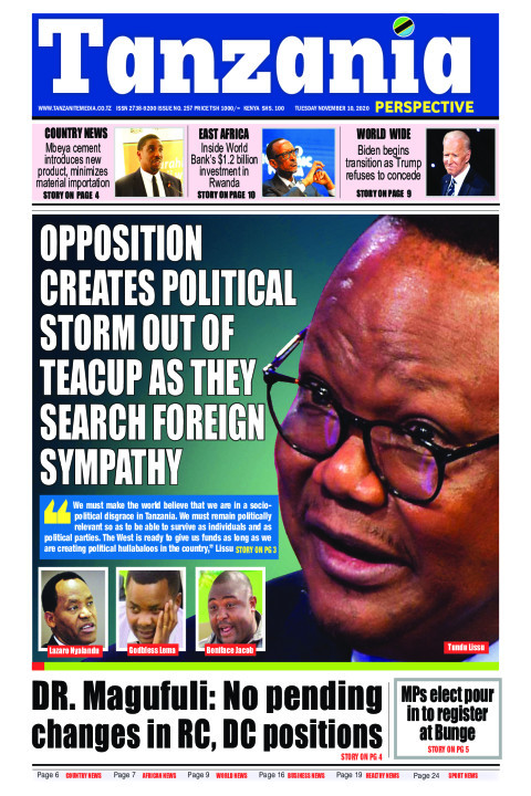 Opposition creates political storm out of teacup as they sea | Tanzania Perspective