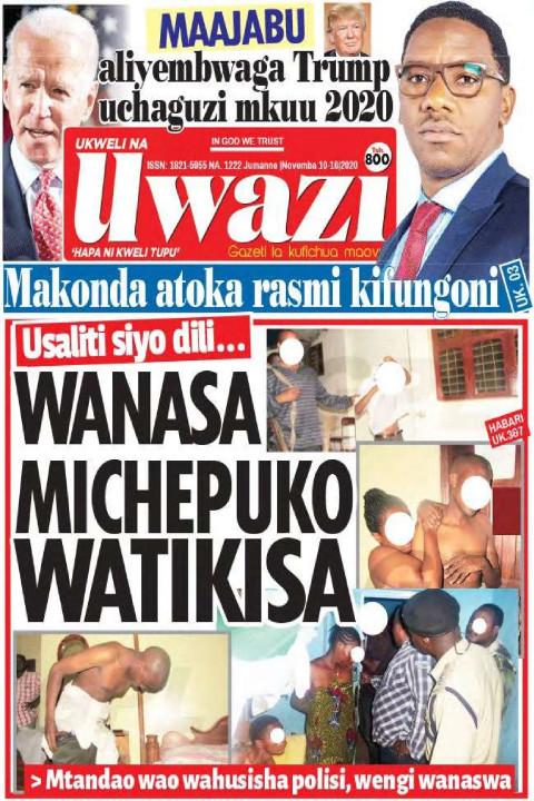 WANASA MICHEPUKO WATIKISA  | Uwazi