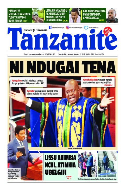 NI NDUGAI TENA | Tanzanite