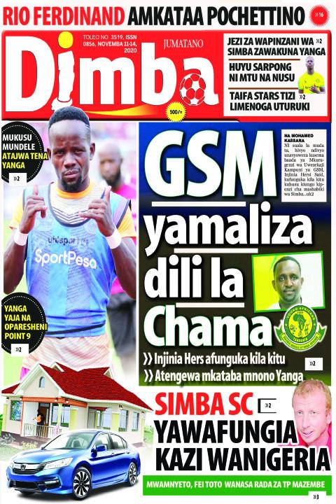 GSM yamaliza dili la Chama | DIMBA