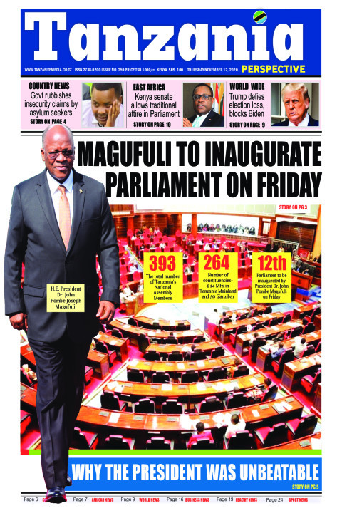 Magufuli to inaugurate Parliament on Friday | Tanzania Perspective